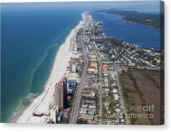 Gulf Shores 7124n Canvas Print