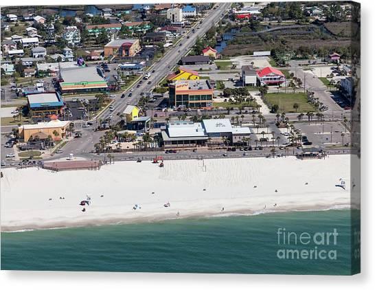 Gulf Shores Beach 7139 Canvas Print
