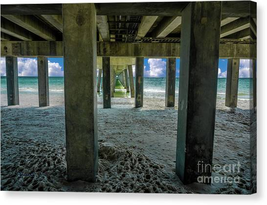 Gulf Shores Park And Pier Al 1649b Canvas Print