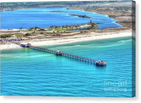 Gulf State Park Pier 7464p3 Canvas Print
