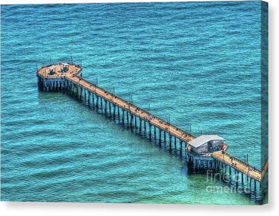 Gulf State Park Pier Canvas Print