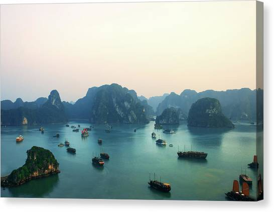 Ha Long Bay Canvas Print by Samantha T. Photography