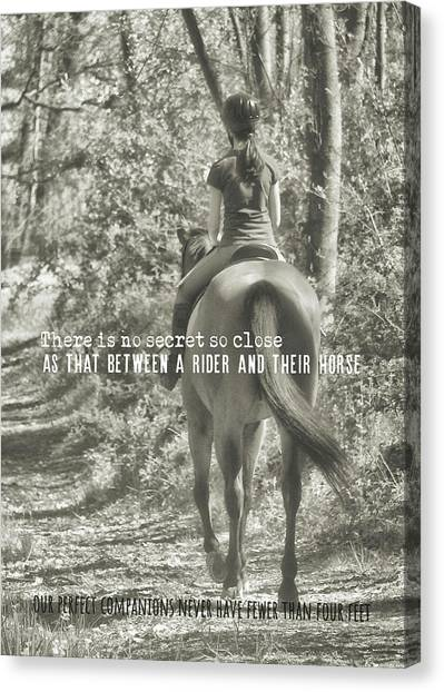 Hacking Quote Canvas Print by JAMART Photography