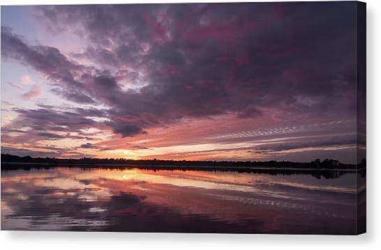 Halifax River Sunset Canvas Print