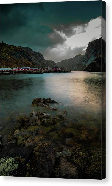 Hamnoy, Lofoten Islands Canvas Print