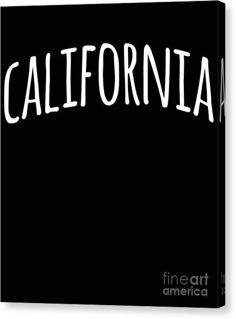 Hand California Canvas Print
