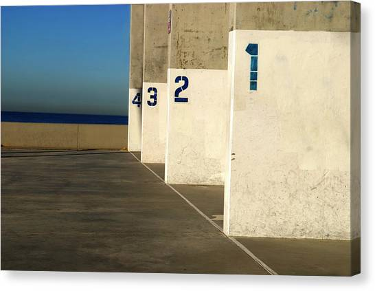 Handball Courts Canvas Print