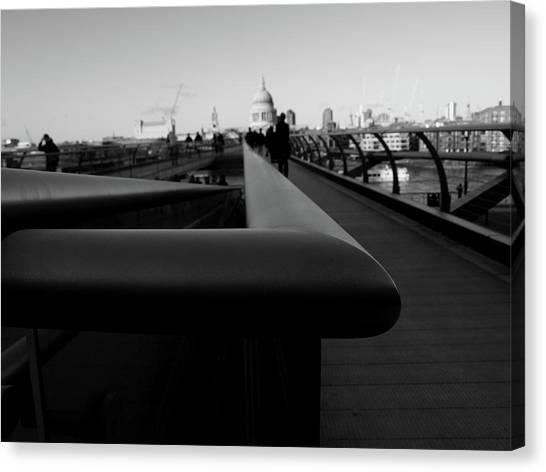 Handrail Canvas Print