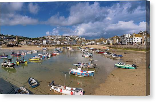 Harbour - St Ives Cornwall Canvas Print