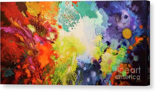 Harmonic Vibrations Canvas Print