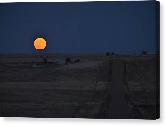 Harvest Moon 2 Canvas Print