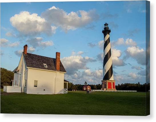 Hatteras Lighthouse No. 2 Canvas Print
