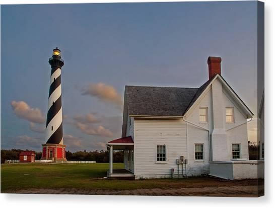 Hatteras Lighthouse No. 3 Canvas Print