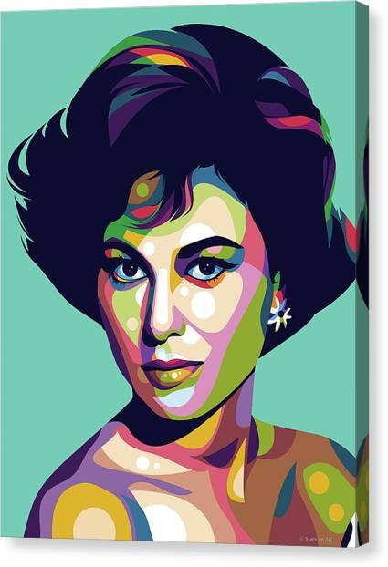Haya Harareet Canvas Print