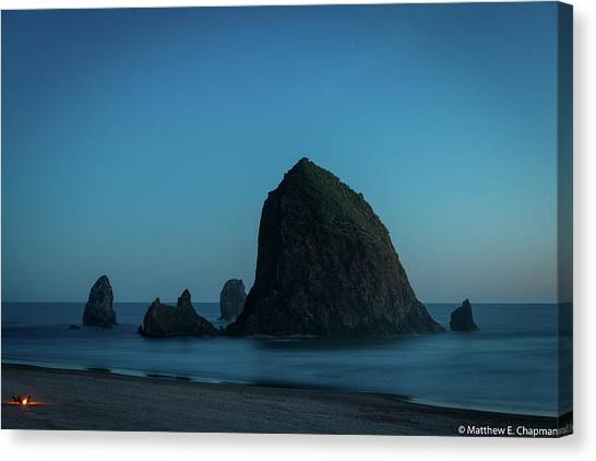 Haystack And Needles Canvas Print