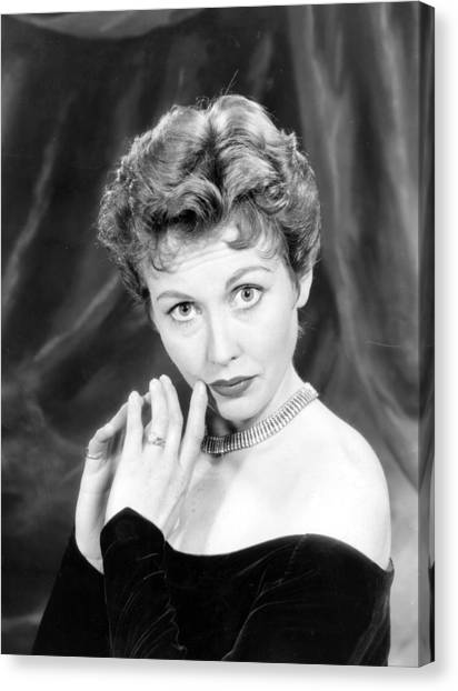 Hazel Court Canvas Print