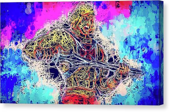 He - Man Canvas Print