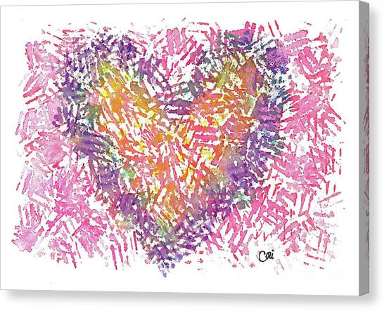 Heart 1006 Canvas Print