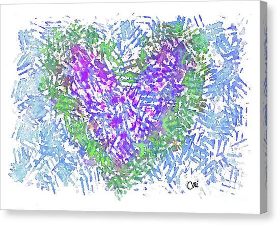 Heart 1008 Canvas Print