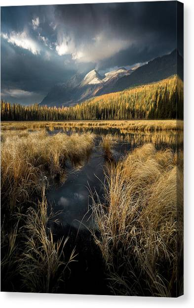 Heaven's Breath / Whitefish, Montana  Canvas Print