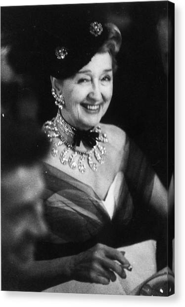 Hedda Hopper Canvas Print by Slim Aarons
