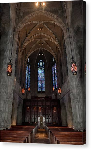 Canvas Print featuring the photograph Heinz Memorial Chapel by Guy Whiteley