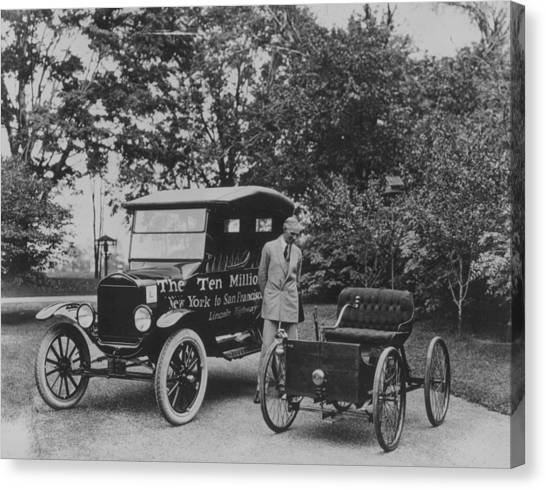 Henry Ford Senior Canvas Print