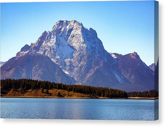 Canvas Print featuring the photograph Hermitage Point by Pete Federico