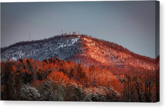 Hibriten Mountain - Lenoir, North Carolina Canvas Print