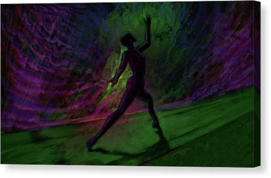 Hidden Dance Canvas Print