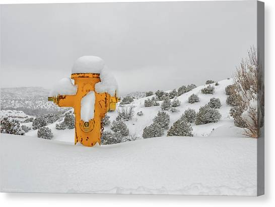 High Desert Hydrant Canvas Print