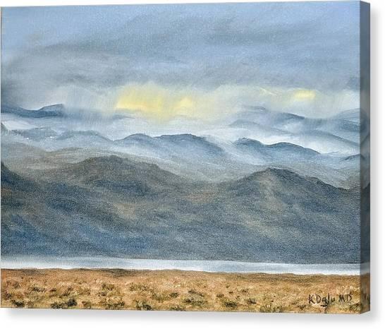 High Desert Morning Canvas Print