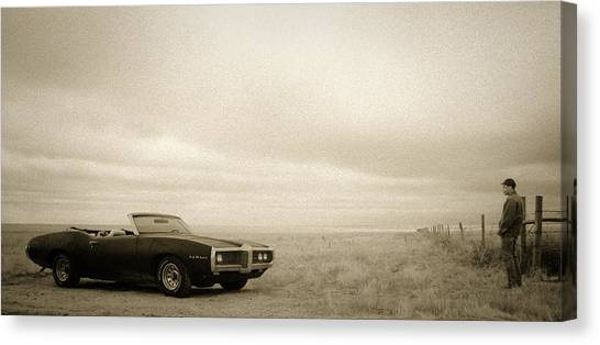 High Plains Drifter Canvas Print