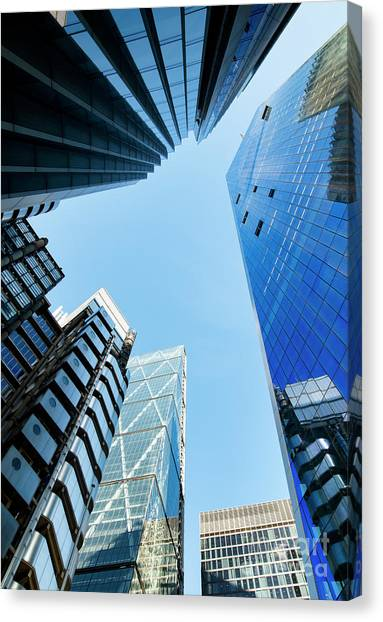 High Rise Canvas Print by Tim Gainey