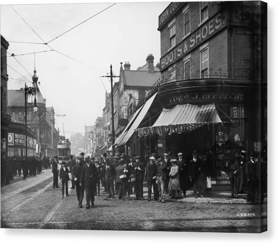 Sunderland Canvas Print - High Street West by London Stereoscopic Company