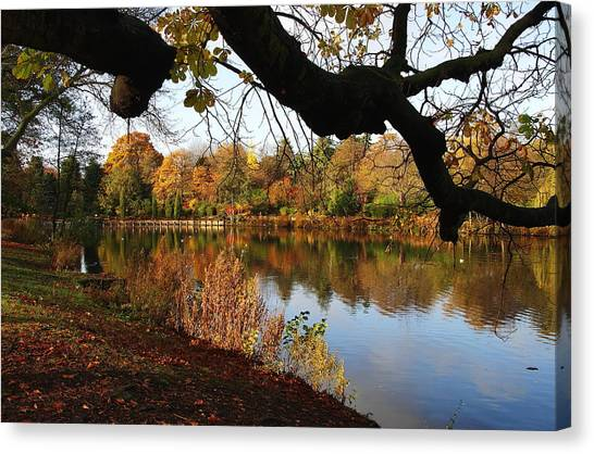 Nottinghamshire Canvas Print - Highfields Lake by Am Photography