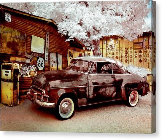 Highsmith Old Car Canvas Print