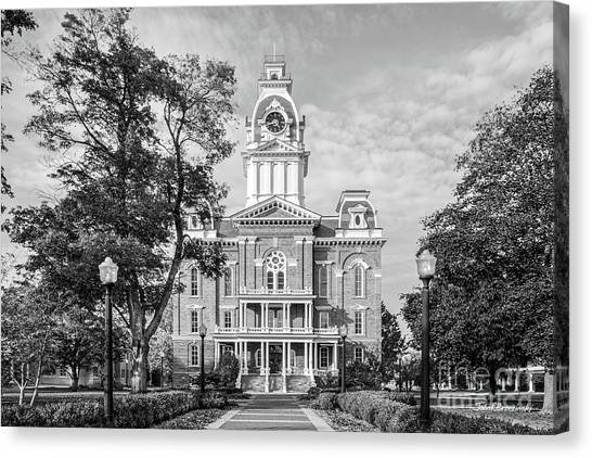 Hillsdale College Central Hall Canvas Print