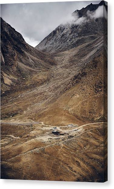 Himalayan Outpost Canvas Print