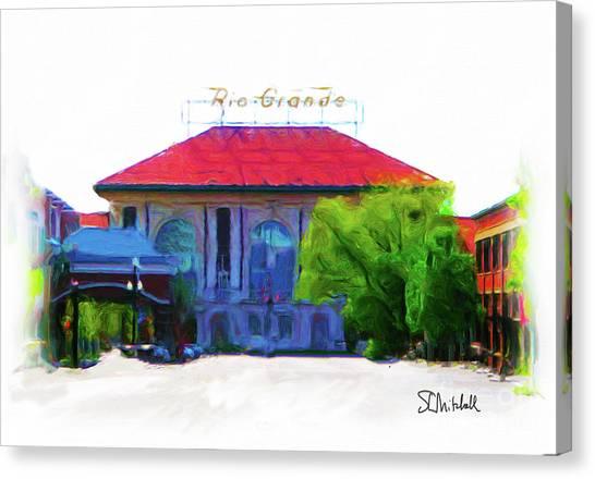 Historic Rio Grande Station Canvas Print