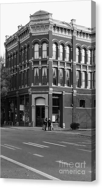 Canvas Print featuring the photograph Historic Structures 1 by Jeni Gray