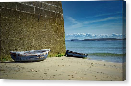 Holidays In St Ives Cornwall Canvas Print