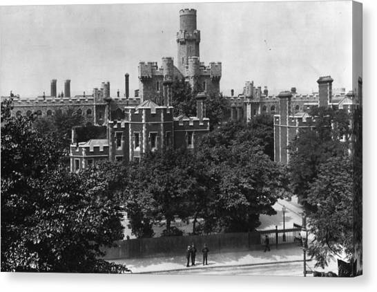 Holloway Prison Canvas Print by Hulton Archive