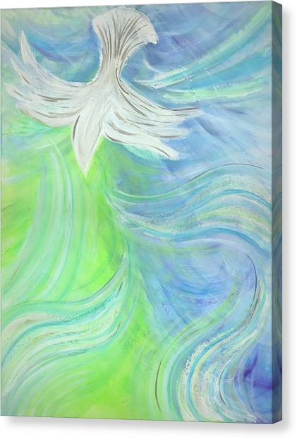 Holy Spirit Outpouring Canvas Print