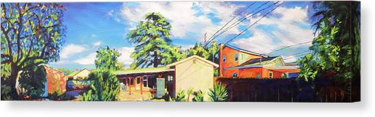 Home In The Valley Canvas Print