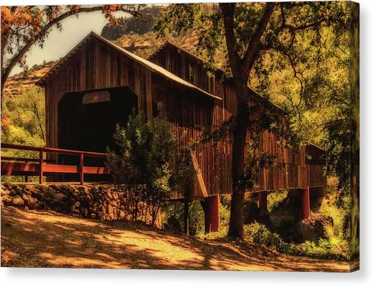 Honey Run Covered Bridge Canvas Print