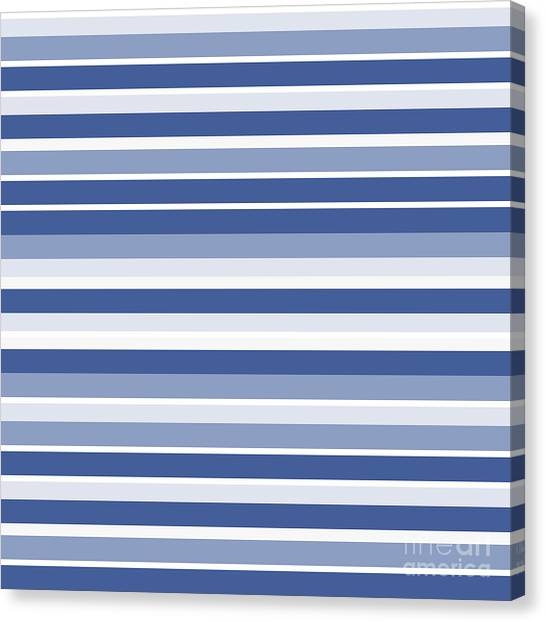 Horizontal Lines Background - Dde607 Canvas Print