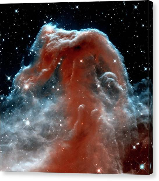 Canvas Print featuring the photograph Horsehead Nebula Outer Space Photograph by Bill Swartwout Fine Art Photography