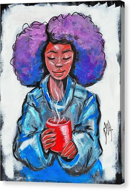 Canvas Print - Hot Cocoa by Artist RiA