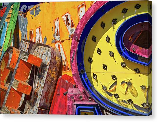 Canvas Print - Hot Mess by Skip Hunt